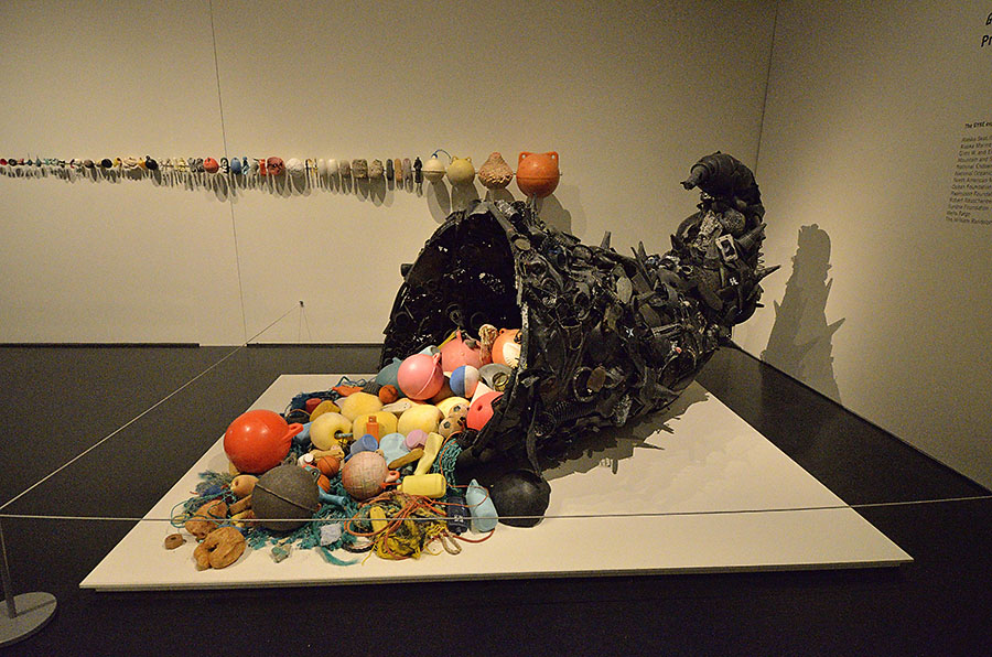 20140902 2781 anchorage museum ocean trash horn r