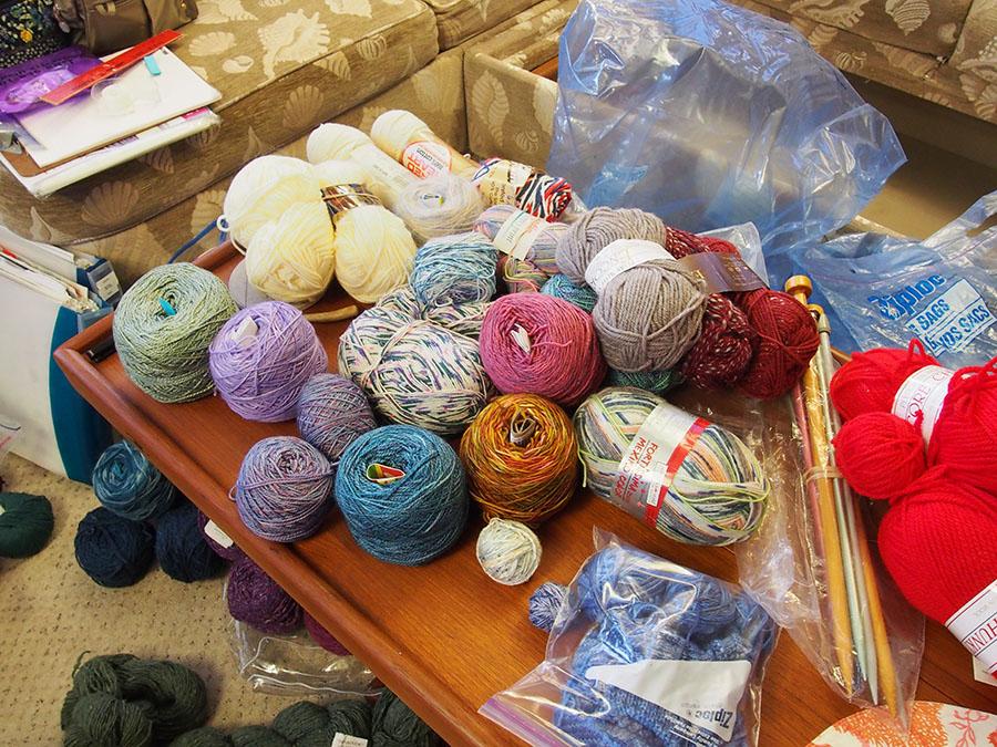 yarn piles 1