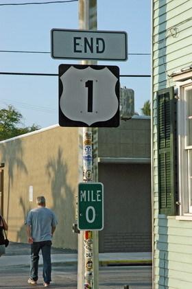 1 mile 0