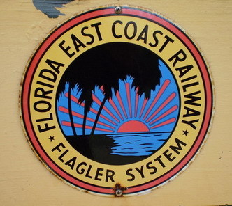3 flagler railway sign