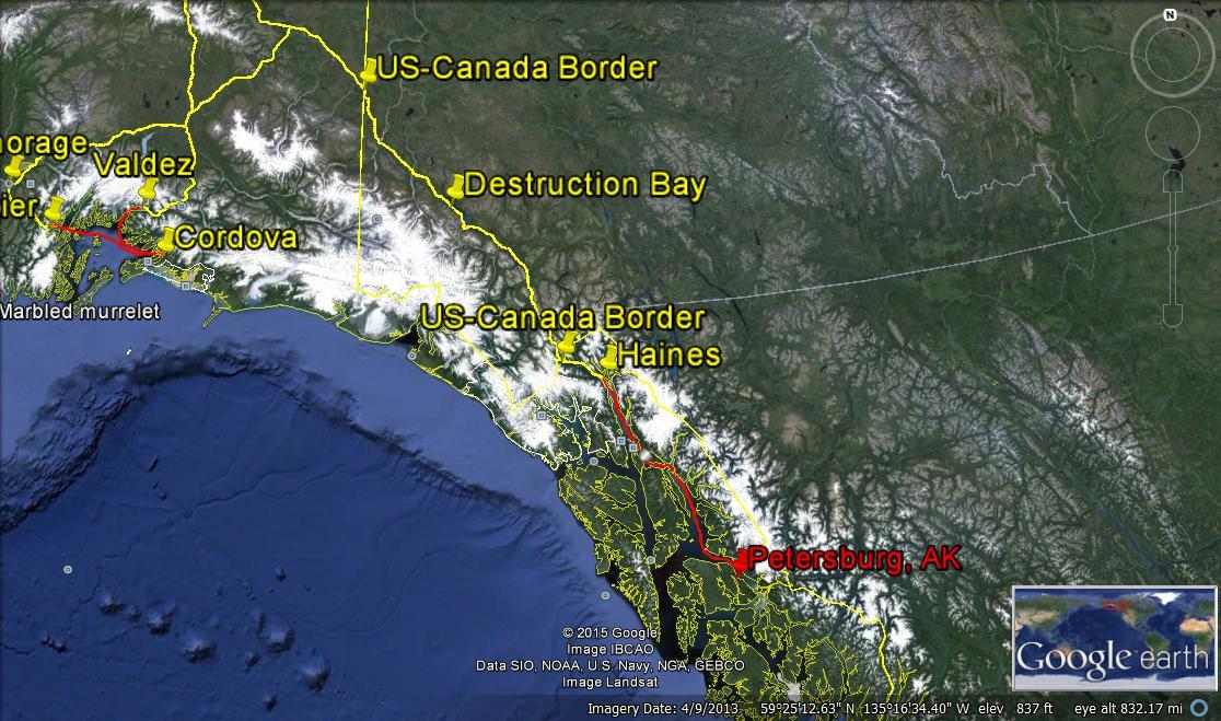 alaska road trip psg to canada