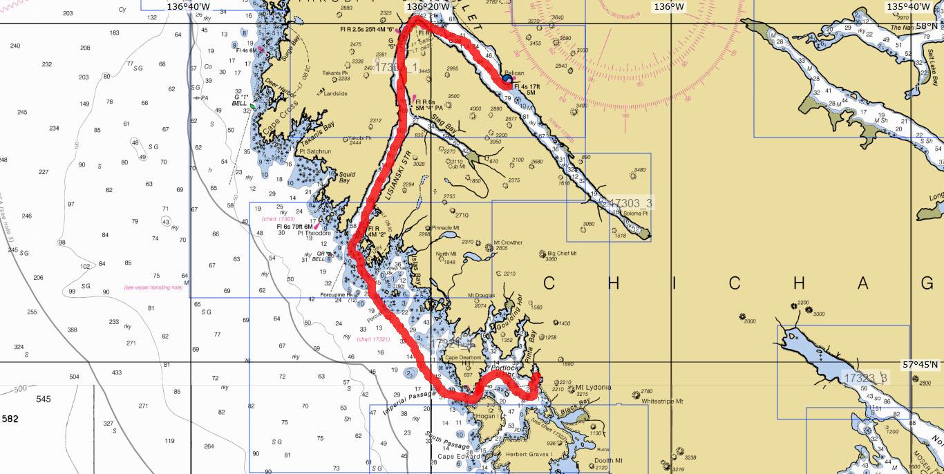 chart yakobi island to portlock hbr